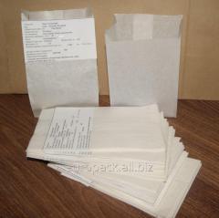 Пакет саше крафт белый 170х100х60