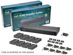 Hdmi amplifier splitter 1×8.Матрица hdmi,