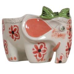 Статуэтка ваза керамическая Слоник Ди