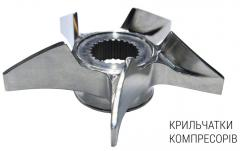 Impeller pumps and compressors casting methods,