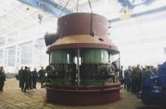 Дроссельная группа уплотненная для поддержания избыточного давления под колошником доменной печи путем дросселирования воздушного потока клапанами DN425 и клапанами DN1000, доменное оборудование, пр-во Днепротяжмаш, Украина