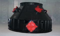 Затвор газовый для отделения межконусного пространства