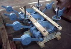 Клапан шламовый Условный проход 300/250мм для обеспечeния возможности слива шлама, оседающего в газоочистных установках металлургических цехов, доменное оборудование, пр-во Днепротяжмаш, Украина