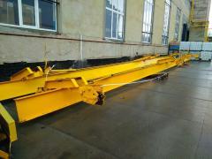 Two underslung crane proletnaja, 3-piece bearing