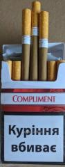 Compliment red ordinary cigarettes