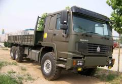 Грузовик Sinotruk Howo Military Cargo Truck 6×6