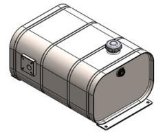 Масляный бак OMFB стальной с откидной крышкой