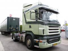 Тягач с краном Scania R 420 HighLine