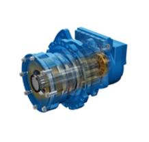 Гидравлический гусеничный двигатель HP50, Eaton