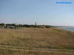 The land plot in Berdyansk under building