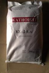 KY-2-8 (Na) cation exchanger, ion exchange resin
