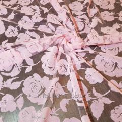 Еврофатин (Флок) Розы бархат цвет - бледная роза №
