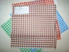 Бумага оберточная крафт белый пищевой Клетка коричневая 320х320