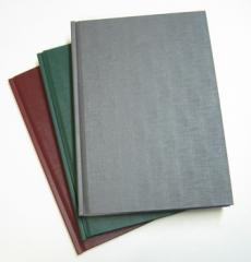 Firm cover of diplomas of cues