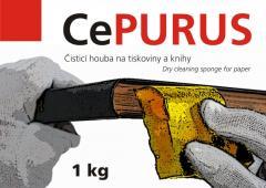 Еластична губка CePurus 1 кг