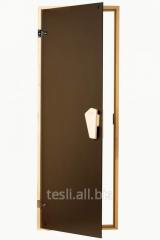 Beautiful and stylish sauna door, wooden door Sateen
