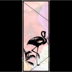 """Heat-resistant door """"Flamingo"""", purchase sauna doors in Kharkov"""