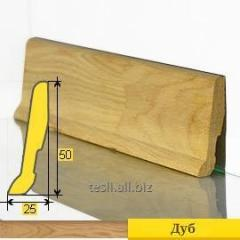 Wooden baseboards