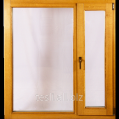 Oak Windows in house Tesli