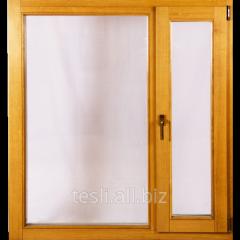 Дубовые окна в дом Tesli