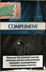 Compliment blue normal cigarettes
