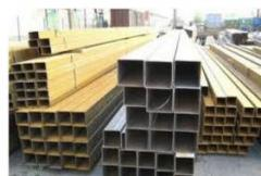 Electrowelded steel pipes profile