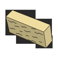 Фасадный камень бежевый