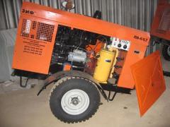 Diesel compressor of mobile ZIF-PV-8/0,7