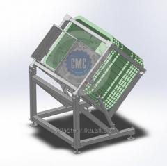 Опрокидыватель для контейнеров и ящиков
