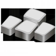 Тротуарная плитка Римский камень 60 белый