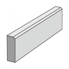 Бордюр тротуарный 1000 серый