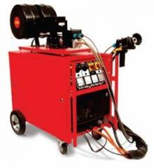Sale of the gas-thermal equipment and training of