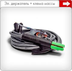 Электрододержатель + клемма массы