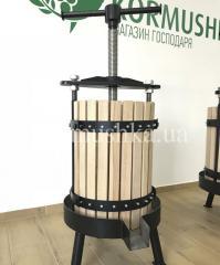 Пресс для винограда и фруктов 45 л дуб (Украина)