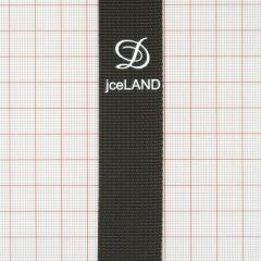 "Тесьма ""D jceLAND"" 2,5см коричневая ярд"