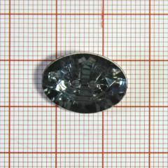 "Пуговица ""кристалл"" 3126 18мм св.хаки овал / Китай/, шт"