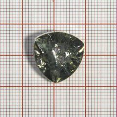 "Пуговица ""кристалл"" 3147 17мм св.хаки треуг. / Китай/, шт"