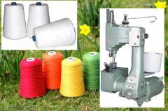 Agulhas para máquina de costura de saco