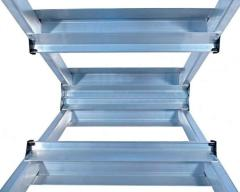 Двухсторонняя алюминиевая стремянка VIRASTAR Step