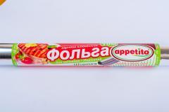 Фольга пищевая алюминиевая 440*10м Appetito