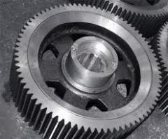 Gear wheels, All types of mechanical and heat