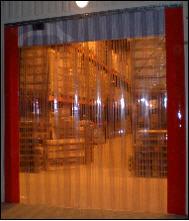Завесы поливинилхлоридные холодозащитные.