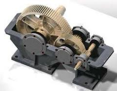 The body of a reducer, Product case of metal,