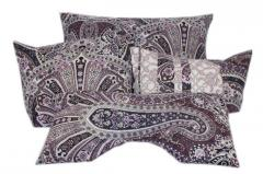 "Set of cushions ""Purple delight"""