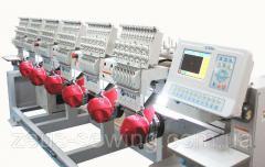 Промышленная 6-ти головочная вышивальная машина VELLES VE 1206