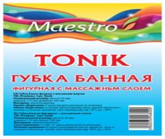 Губка банная с массажным слоем ТМ Maestro...