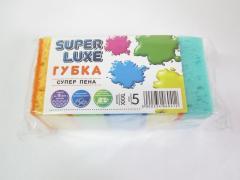 Губка кухонная 5шт СуперПена Super Luxe