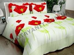 Ткань Бязь Silver для постельного белья N-4569-Green