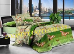 Ткань Бязь Silver для постельного белья N-6678-1-Green