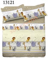 Ткань детская Бязь Gold для постельного белья 13121-1 Beige